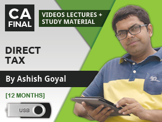 CA Final Direct Tax & International Taxation Video Lectures by Ashish Goyal (12 Months) (USB)