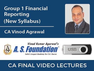 CA Final Financial Reporting Video Lectures for New Syllabus by CA Vinod Agrawal