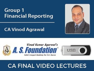 CA Final Group 1 Financial Reporting Video Lectures by CA Vinod Agarwal