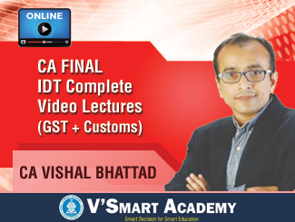 CA Vishal Bhattad IDT Complete Video Lectures (Online)