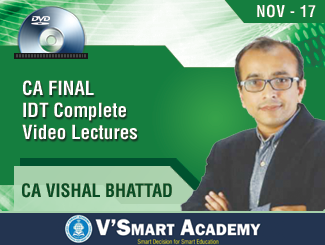 CA Vishal Bhattad IDT Complete Video Lectures (DVD)