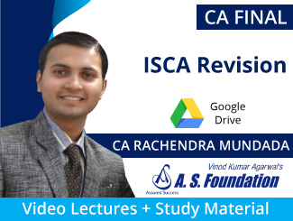 CA Final ISCA Revision Video Lectures by CA Rachendra Mundada (Download)
