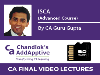 CA Guru Gupta ISCA Video Lectures for CA Final (Advanced Course) SD Card