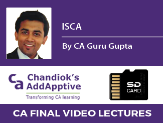 CA Guru Gupta ISCA Video Lectures for CA Final SD Card