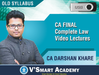 CA Final LAW Complete Video Lectures by CA Darshan Khare