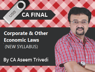 CA Final New Syllabus Corporate & Other Laws Video Lectures by CA Aseem Trivedi