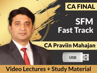 CA Final SFM Fast Track Video Lectures by CA Praviin Mahajan (USB)