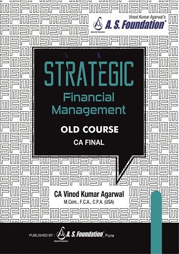 CA Final SFM Regular Book by CA Vinod Kumar Agarwal
