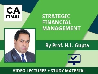 CA Final SFM Video Lectures by Prof HL Gupta (Online)