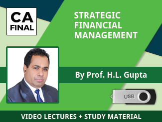 CA Final SFM Video Lectures by Prof HL Gupta