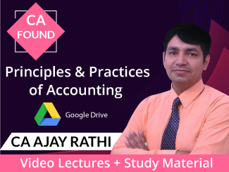 CA Foundation Principles & Practices of Accounting Video Lectures by CA Ajay Rathi (Download)