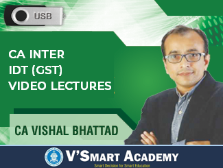 CA Inter IDT (GST) Full Course Video Lectures by CA Vishal Bhattad