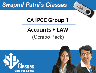 CA IPCC Group 1 (Accounts+LAW) Complete Video Lectures in Pen Drive