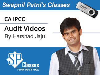 CA IPCC Audit Video Lectures by CA Harshad Jaju