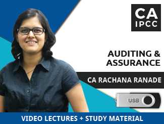CA IPCC Auditing & Assurance Video Lectures by CA Rachana Ranade