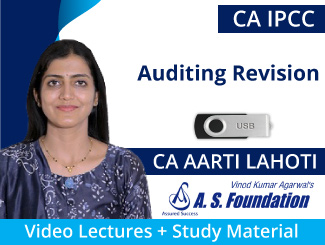 CA IPCC Auditing Revision Video Lectures by CA Aarti Lahoti