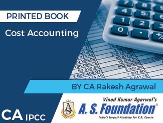 CA IPCC Cost Accounting Book by CA Rakesh Agrawal By CA Rakesh Agrawal