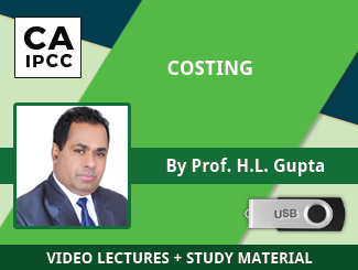 CA IPCC Costing Video Lectures by Prof HL Gupta