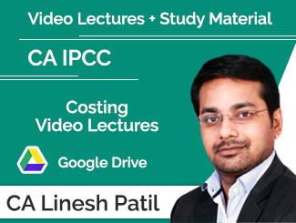 CA IPCC Costing Video Lectures by CA Linesh Patil (Download) By CA