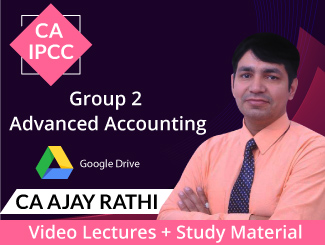 CA IPCC Group 2 Advanced Accounting Video Lectures by CA Ajay Rathi (Download)