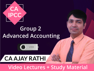 CA IPCC Group 2 Advanced Accounting Video Lectures by CA Ajay Rathi (USB)