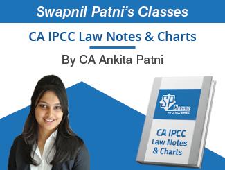 CA IPCC Law Notes & Charts by CA Ankita Patni By Swapnil