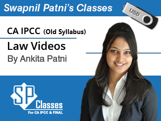 CA IPCC LAW Video Lectures by CA Ankita Patni