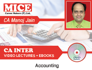 CA Inter Accounting Video Lectures by CA MK Jain