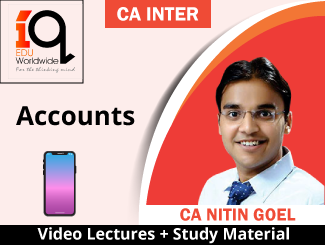 CA Inter Accounts Video Lectures by CA Nitin Goel (Mobile)
