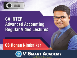 CA Inter Advanced Accounting Regular Video Lectures by CS Rohan Nimbalkar