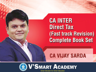 CA Inter Direct Tax Fast Track Revision Complete Book Set By CA Vijay Sarda