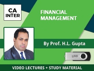 CA Inter Financial Management Video Lectures by Prof HL Gupta (USB)