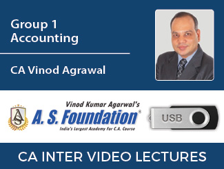 CA Inter Group 1 Accounting Video Lectures by CA Vinod Agarwal