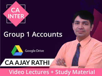 CA Inter Group 1 Accounts Video Lectures by CA Ajay Rathi (Download)