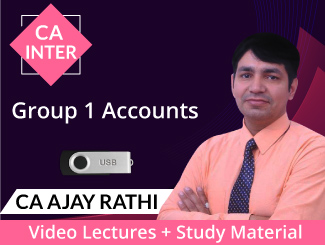 CA Inter Group 1 Accounts Video Lectures by CA Ajay Rathi (USB)