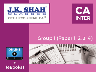 CA Inter - Group 1 (Paper 1, 2, 3, 4) Online Classes