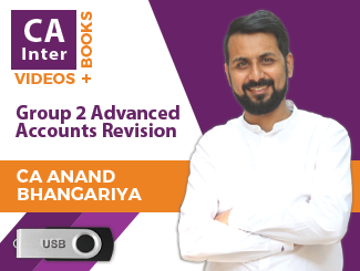 CA Inter Group 2 Advanced Accounts Revision Video Lectures by CA Anand Bhangariya (USB)