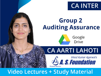 CA Final Group 1 SFM Video Lectures by CA Vinod Agarwal (USB) By A S