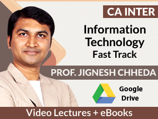 CA Inter IT Fast Track Video Lectures by Prof Jignesh Chheda (Download + E-Books)