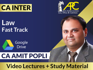 CA Inter Law Fast Track Video Lectures by CA Amit Popli (Download)