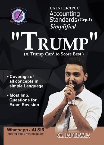 CA Inter Summary Book Trump Accounting Standards (Group 1) by CA Jai Chawla