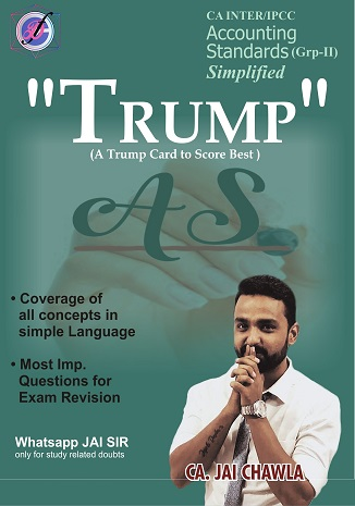 CA Inter Summary Book Trump Accounting Standards (Group 2) by CA Jai Chawla