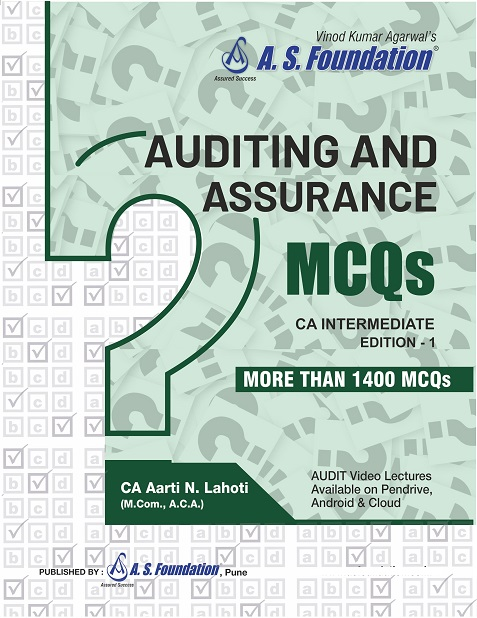 MCQs Book On Laws, Tax, Audit, IT & SM for CA IPCC by Jayesh S