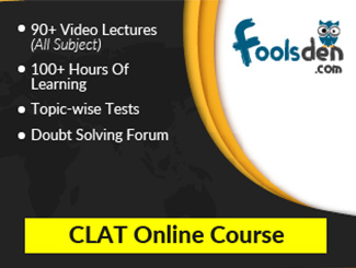 CLAT Video Lectures in Pendrive By StudyIQ