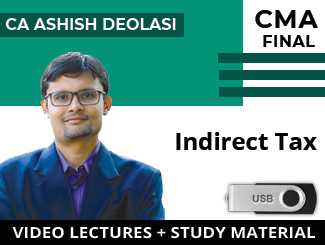 CMA Final IDT Video Lectures by CA Ashish Deolasi (USB)