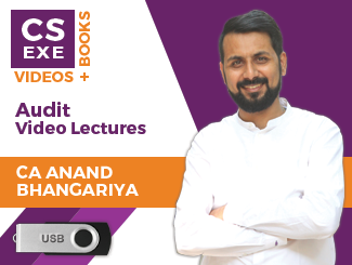 CS Executive Audit Video Lectures by CA Anand Bhangariya (USB)