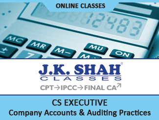 CS Executive Paper 5 Company Accounts & Auditing Practices Online Classes