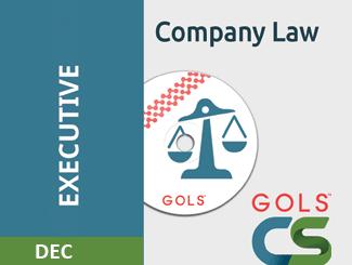 CS Executive Company Law Video Lectures Dec Attempt (Online)