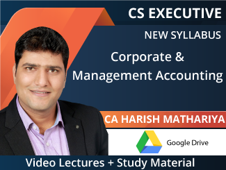 Cs executive company accounts & auditing video lectures by ca.