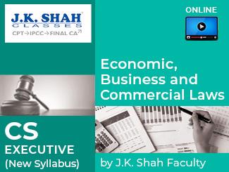 CS Executive New Syllabus EBCL Online Classes